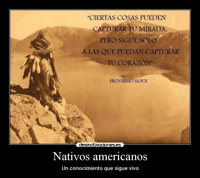 Nativos Americanos Desmotivaciones