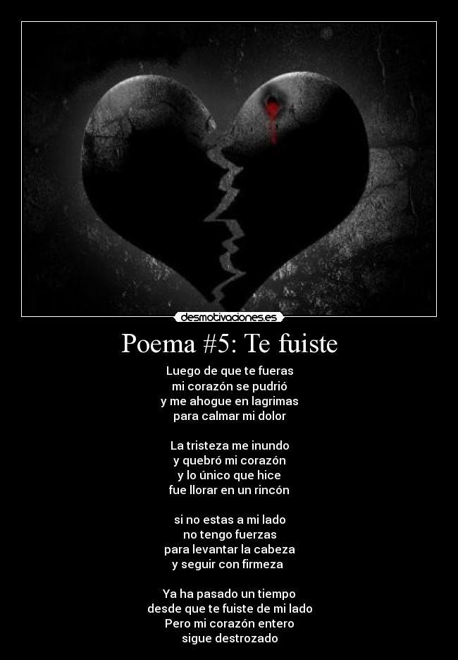 Imágenes Y Carteles De Poemas Pag 10 Desmotivaciones