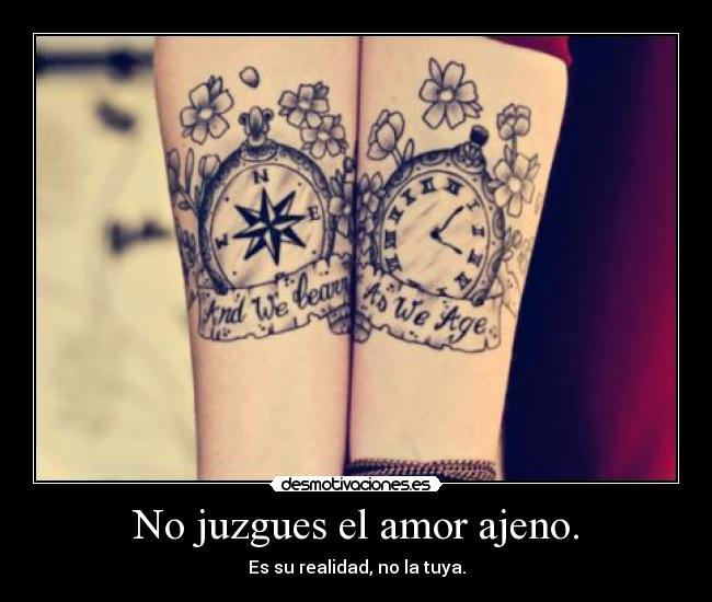 No Juzgues El Amor Ajeno Desmotivaciones