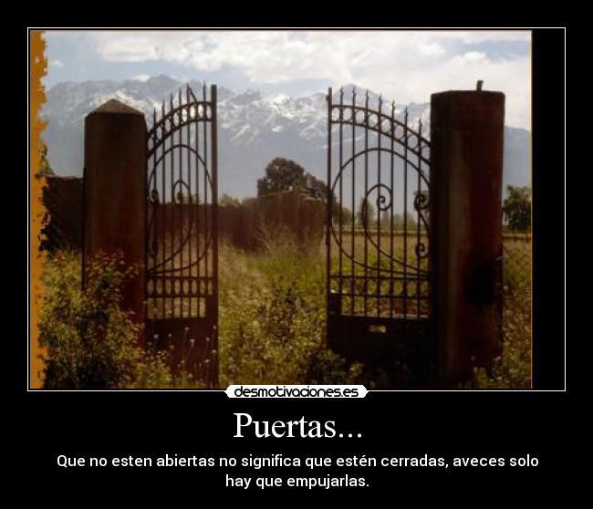 Puertas Desmotivaciones