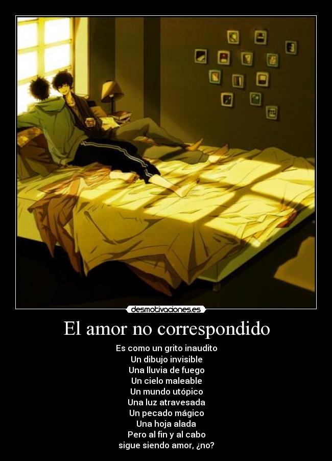El Amor No Correspondido Desmotivaciones