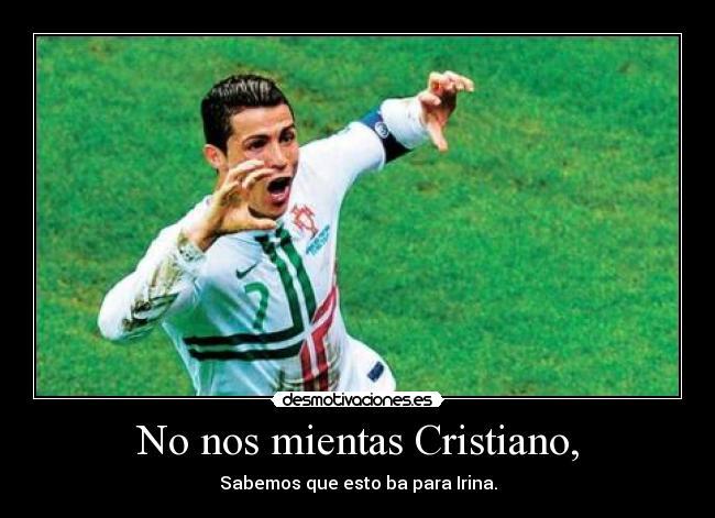 Imagenes Y Carteles De Ronaldo Pag 60 Desmotivaciones