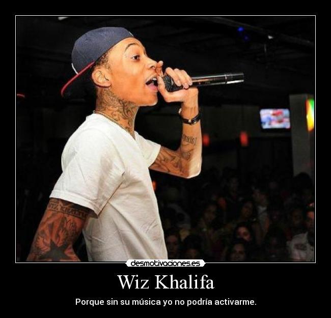Wiz Khalifa Desmotivaciones
