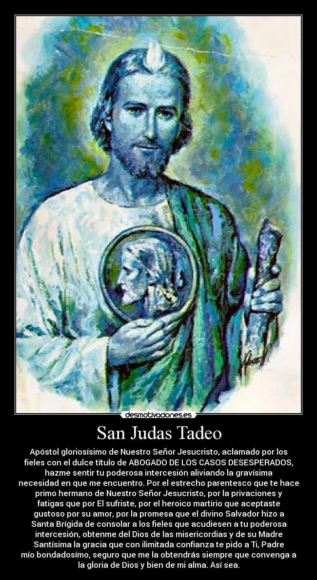 San Judas Tadeo Desmotivaciones