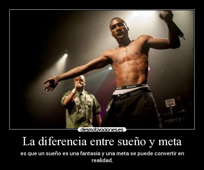 Cual es la diferencia entre una meta y un sueño