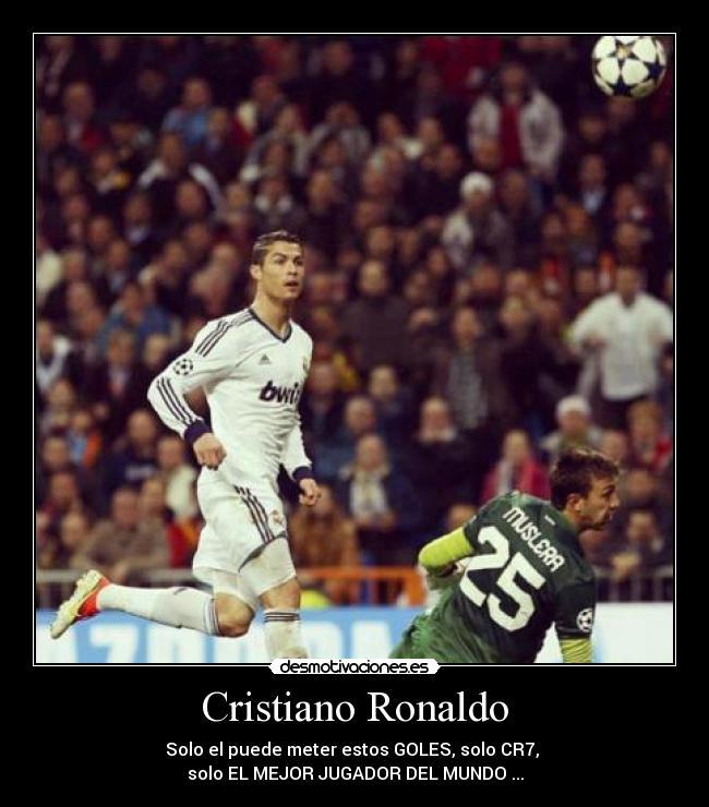 Cristiano Ronaldo Desmotivaciones