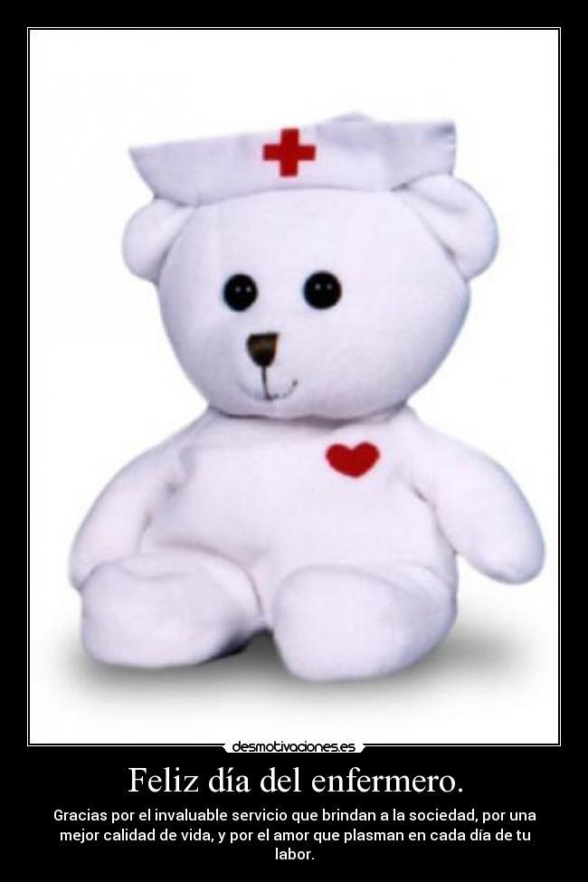 Feliz día del enfermero. | Desmotivaciones