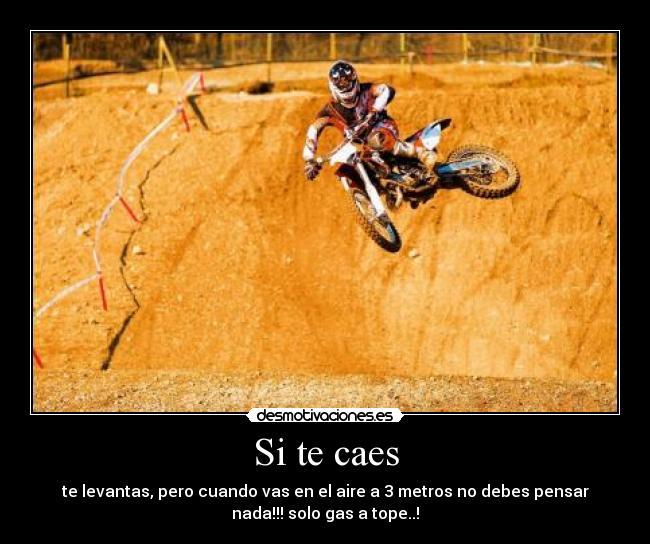 Imágenes Y Carteles De Motocross Pag 4 Desmotivaciones
