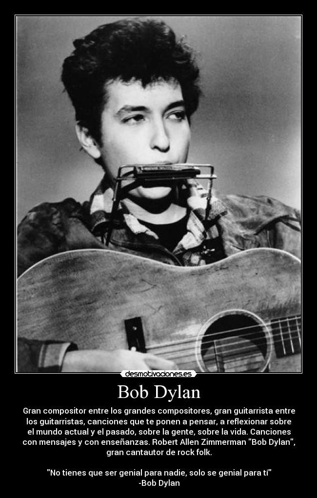 Bob Dylan Desmotivaciones