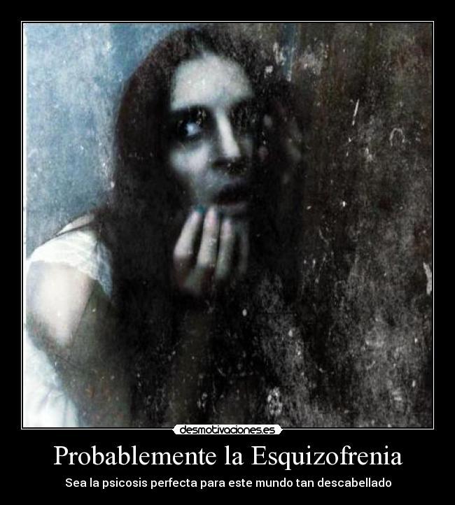 Imágenes Y Carteles De Esquizofrenia Pag 7 Desmotivaciones