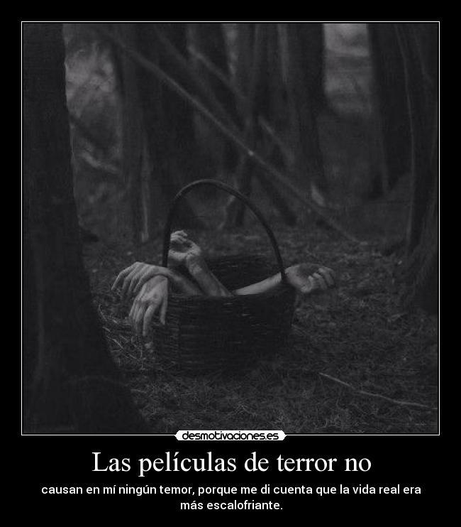 Las Películas De Terror No Desmotivaciones