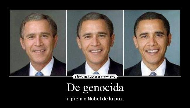 carteles bush obama desmotivaciones