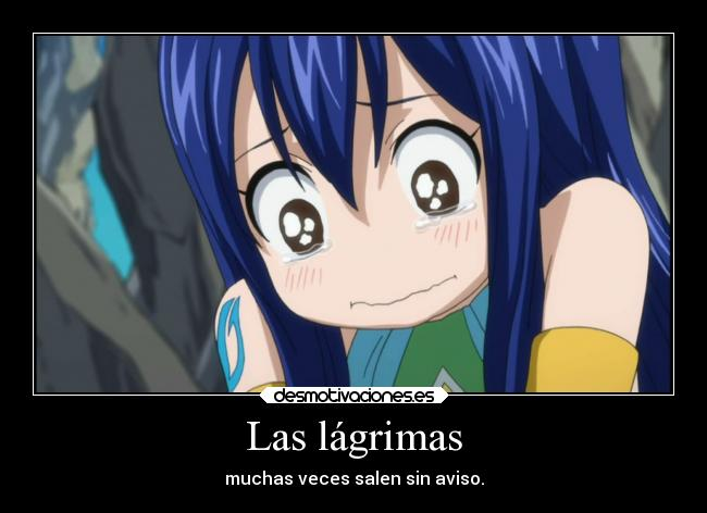 carteles anime fairy tail wendy llorando doni anotherpikachubrigade desmotivaciones