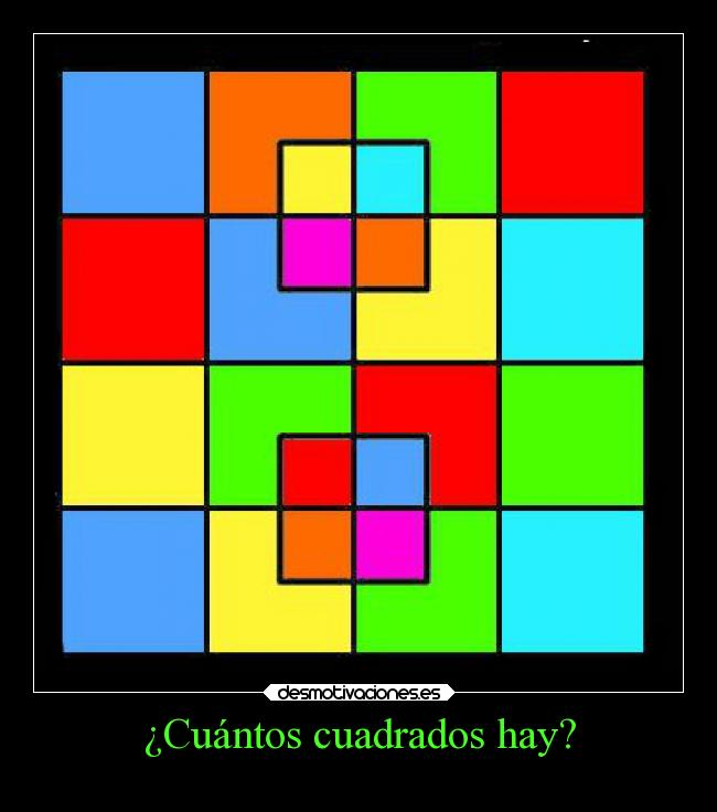 Cu ntos cuadrados hay desmotivaciones for Cuantos codones existen
