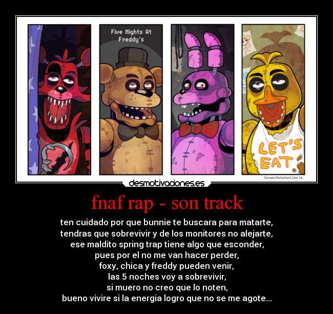 Fnaf Rap - Son Track