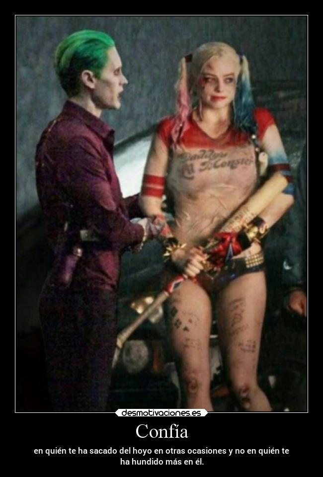 Imagenes Y Carteles De Harleyquinn Desmotivaciones