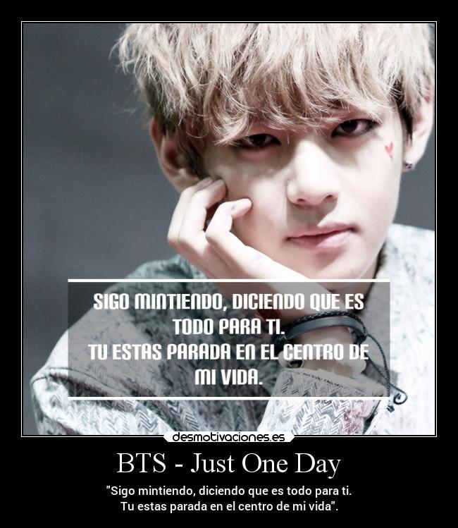 Bts Just One Day Desmotivaciones