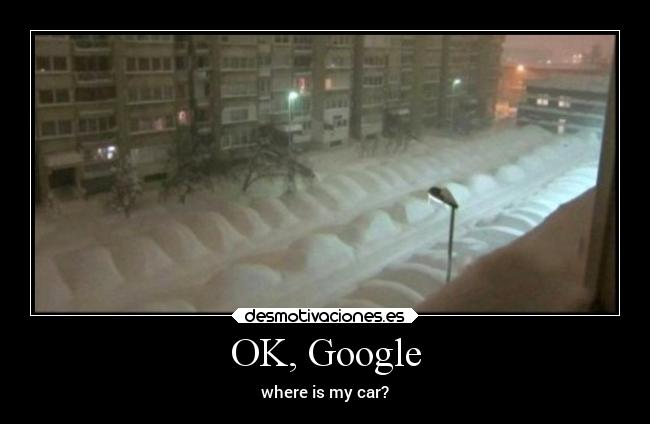OK, Google - where is my car?
