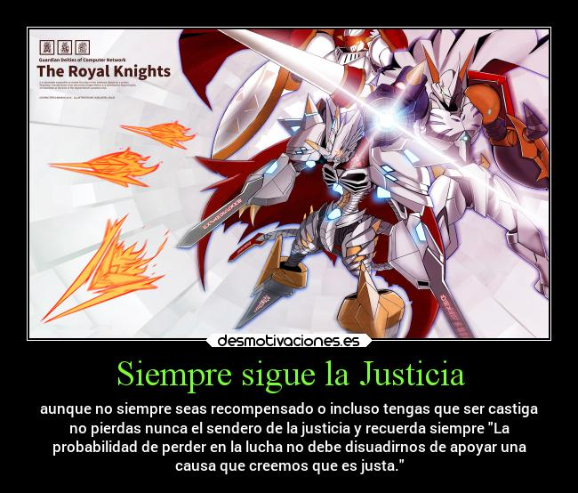 Imagenes Y Carteles De Omegamon Desmotivaciones It exceeded the perfection shining from the crystal in saviorhuckmon's chest, assumed its ultimate form, and acquired the title of a royal knight. imagenes y carteles de omegamon