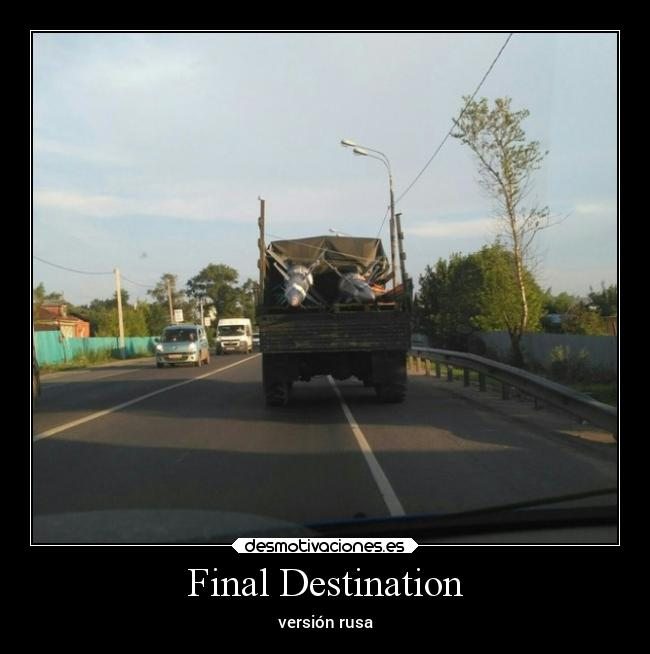 Final Destination - versión rusa